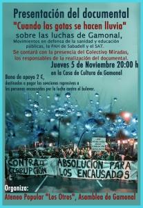 cartel def gamonal